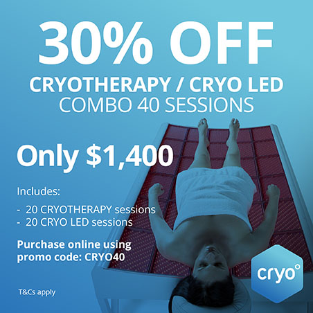 cryotheraphy 30 percent Off