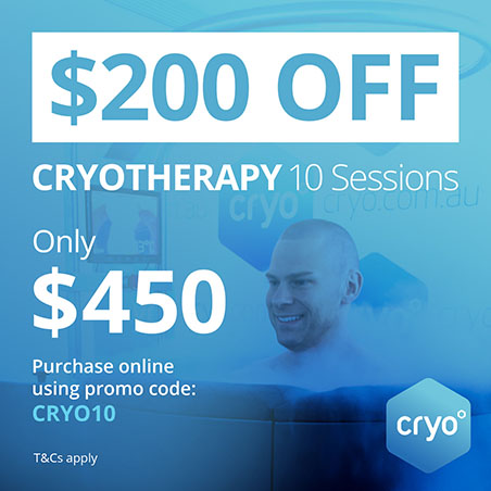 cryotheraphy 200 USD Off