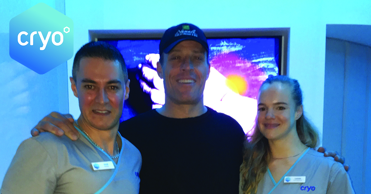 Tony Robbins trying Cryo