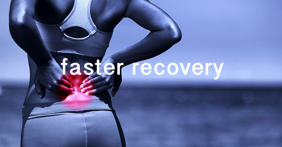 Faster injury recovery with Cryotherapy