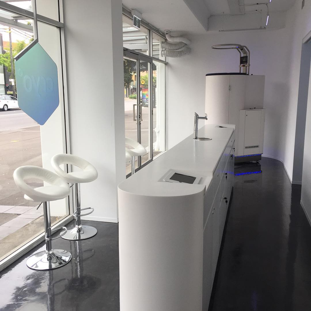 Check out the New Cryotherapy Clinic in Rosebery